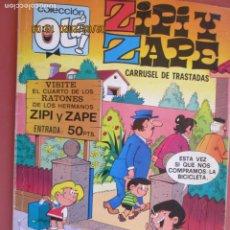 Tebeos: COLECCIÓN OLÉ! - ZIPI Y ZAPE - CARRUSEL DE TRASTADAS - ED. BRUGUERA 1ª ED. 1978. . Lote 194948613