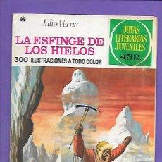 Tebeos: JOYAS LITERARIAS JUVENILES NUMERO 65 LA ESFINGE DE LOS HIELOS. Lote 194950910