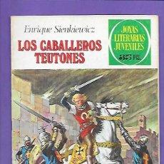 Tebeos: JOYAS LITERARIAS JUVENILES NUMERO 63 LOS CABALLEROS TEUTONES. Lote 194952112