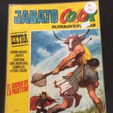 Tebeos: BRUGUERA JABATO COLOR SUPER AVENTURAS 3 EPOCA NUMERO 8 NORMAL ESTADO - OFERTA 2. Lote 194953876