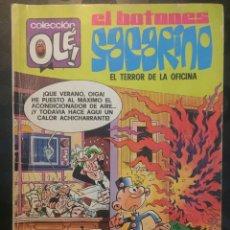 Tebeos: EL BOTONES SACARINO COLECCIÓN OLE ! N.132 EL TERROR DE LA OFICINA . 1@ EDICIÓN 1977 .. Lote 194954165