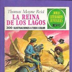 Tebeos: JOYAS LITERARIAS JUVENILES NUMERO 61 LA REINA DE LOS LAGOS. Lote 194955512