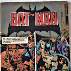 Tebeos: BAT MAN Nº 7 - POR BOB KANE - AÑO 1980 - TAPA BLANDA . Lote 194957018