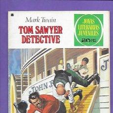 Tebeos: JOYAS LITERARIAS JUVENILES NUMERO 60 TOM SAWYER DETECTIVE. Lote 194958330
