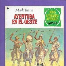 Tebeos: JOYAS LITERARIAS JUVENILES NUMERO 58 AVENTURAS EN EL OESTE. Lote 194966367