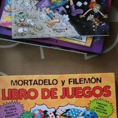 Tebeos: MORTADELO Y FILEMÓN LIBRO DE JUEGOS EDICIONES B . Lote 194967141