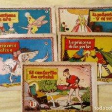 Tebeos: LOTE COLECCION ROSITA Nº 6, 7, 14, 26, 87, BRUGUERA AÑOS 50. Lote 194969541