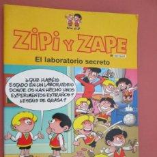 Tebeos: ZIPI Y ZAPE , EL LABORATORIO SECRETO -2004 . Lote 194975613