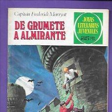 Tebeos: JOYAS LITERARIAS JUVENILES NUMERO 50 DE GRUMETE A ALMIRANTE. Lote 194984053