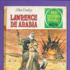 Tebeos: JOYAS LITERARIAS JUVENILES NUMERO 44 LAWRENCE DE ARABIA. Lote 194987091