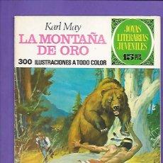 Tebeos: JOYAS LITERARIAS JUVENILES NUMERO 43 LA MONTAÑA DE ORO. Lote 194987615