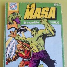 Tebeos: LA MASA EL INCREÍBLE HULK 4 POCKET DE ASES BRUGUERA 1982. Lote 195008021