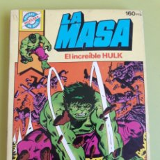 Tebeos: LA MASA EL INCREÍBLE HULK 2 POCKET DE ASES BRUGUERA 1982. Lote 195008250