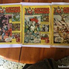 Tebeos: COMIC EL CAPITAN TRUENO EXTRA Nº 102 -104 -117 -. Lote 195014076