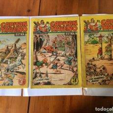 Tebeos: COMIC EL CAPITAN TRUENO EXTRA Nº 143 -144- 155- LOTAE 3 REVT,. Lote 195014580