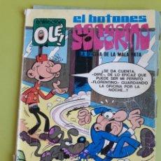 Tebeos: EL BOTONES SACARINO 62 EDITORIAL BRUGUERA FATIGADO. Lote 195015648