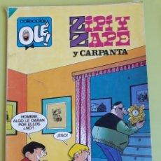 Tebeos: ZIPI Y ZAPE Y CARPANTA PRIMERA EDICIÓN BRUGUERA COLECCIÓN OLÉ N 287. Lote 195015893