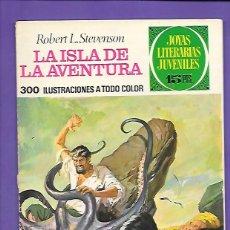 Tebeos: JOYAS LITERARIAS JUVENILES NUMERO 39 LA ISLA DE LA AVENTURA. Lote 195016145