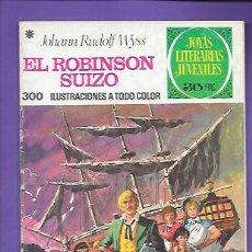 Tebeos: JOYAS LITERARIAS JUVENILES NUMERO 23 EL ROBISON SUIZO. Lote 195026388