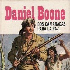 Tebeos: HÉROES SELECCIÓN-DANIEL BOONE- Nº 4 -ÚLT. COLEC-DOS CAMARADAS PARA LA PAZ -1969-J. MAINOU-BUENO-3136. Lote 195031425