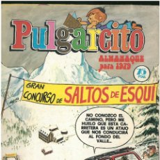 Tebeos: PULGARCITO ALMANAQUE 1979. CON SHERIFF KING ED. BRUGUERA. C-17. Lote 195031587