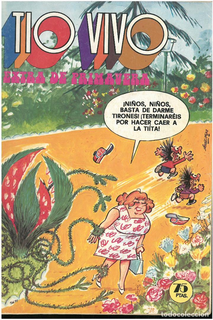 TIO VIVO EXTRA DE PRIMAVERA 1979. ED. BRUGUERA. C-17 (Tebeos y Comics - Bruguera - Tio Vivo)