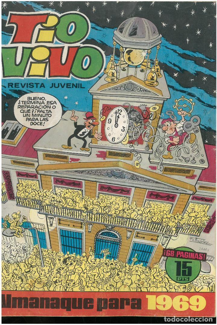 TIO VIVO ALMANAQUE 1969. ED. BRUGUERA. C-17 (Tebeos y Comics - Bruguera - Tio Vivo)