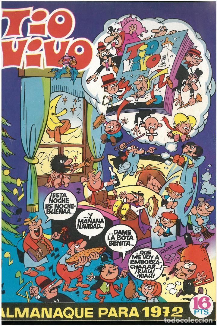 TIO VIVO ALMANAQUE 1972. ED. BRUGUERA. C-17 (Tebeos y Comics - Bruguera - Tio Vivo)