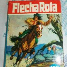 Tebeos: FLECHA ROTA EL JINETE MISTERIOSO BRUGUERA 1ª EDICIÓN 1964 COL. HEROES Nº 39 PASTA DURA CUBIERTA 240. Lote 195053536