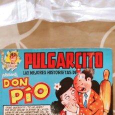 Tebeos: MAGOS DEL LÁPIZ PULGARCITO DON PIO PEÑARROYA BRUGUERA BUEN ESTADO. Lote 195087487