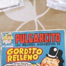 Tebeos: PULGARCITO SERIE MAGOS DEL LÁPIZ Nº 25 GORDITO RELLENO PEÑARROYA BRUGUERA. Lote 195087875