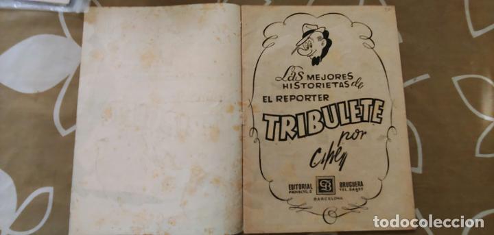 Tebeos: Magos del Lápiz Pulgarcito el Reporter Tribulete Cifré Bruguera buen estado - Foto 3 - 195088182