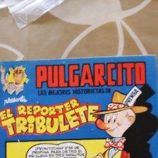 Tebeos: MAGOS DEL LÁPIZ PULGARCITO EL REPORTER TRIBULETE CIFRÉ BRUGUERA BUEN ESTADO. Lote 195088182