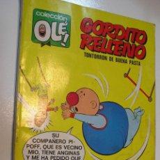Tebeos: COLECCION OLE NUMERO 24 GORDITO RELLENO COMPLETO VER FOTOS. Lote 195101867