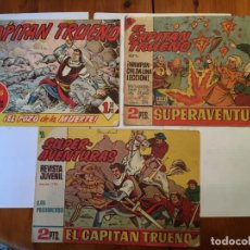 Tebeos: COMIC EL CAPITAN TRUENO SUPER AVENTURAS Nº 350 -515 -1128 -LOTE 3 REVT, . Lote 195122428
