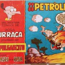 Tebeos: MAGOS DE LA RISA Nº 39 ALBUM PULGARCITO DOÑA URRACA PETROLEO POR JORGE BRUGUERA BIEN. Lote 195125093