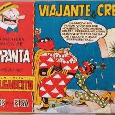 Tebeos: MAGOS DE LA RISA Nº 21 ALBUM PULGARCITO CARPANTA VIAJANTE DE CREMAS ESCOBAR BRUGUERA . Lote 195126885