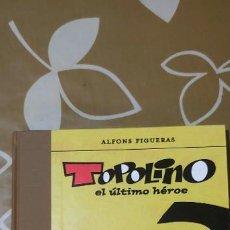 Tebeos: TOPOLINO EL ÚLTIMO HÉROE ASTIBERRI ALFONS FIGUERAS PERFECTO ESTADO, IMPECABLE . Lote 195127326