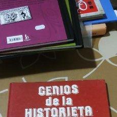 Tebeos: GENIOS DE LA HISTORIETA COLECCIÓN COMPLETA EN UN TOMO BRUGUERA HERMANAS GILDA DON PIO DOÑA URRACA ... Lote 195129242