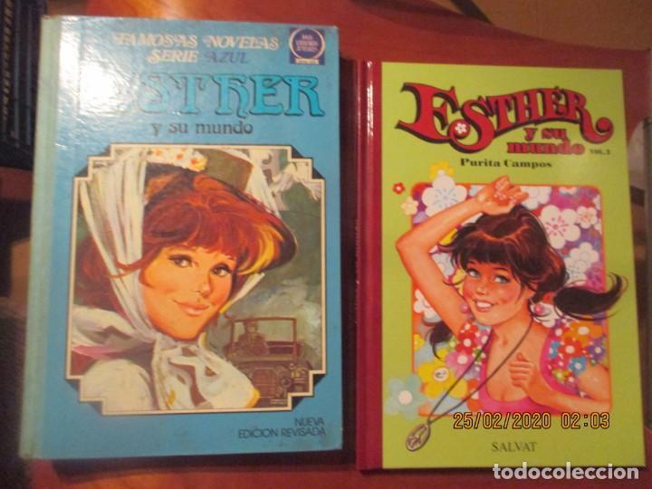 ESTHER -LOTE DE 2 -DE 2008 EL Nº 2 -SERIE AZUL DE 1982 EL Nº 4 (Tebeos y Comics - Bruguera - Esther)