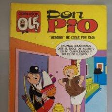 Tebeos: OLÉ DON PIO N°19 BRUGUERA 1971 40 PESETAS 1°EDICIÓN COMPLETO 80 PAGINAS. Lote 195155478