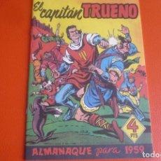 Tebeos: ALMANAQUE DE 1959,FACSIMIL. CAPITAN TRUENO.. Lote 195165370