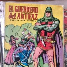 Tebeos: LOTE 256 PORTADAS EL GUERRERO DEL ANTIFAZ ORIGINALES AÑO 1972. DIBUJADAS POR M. GAGO (VALENCIANA). Lote 195171961