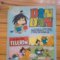 Tebeos: DIN DAN Y LA FAMILIA TELERÍN Nº 44. Lote 195185901