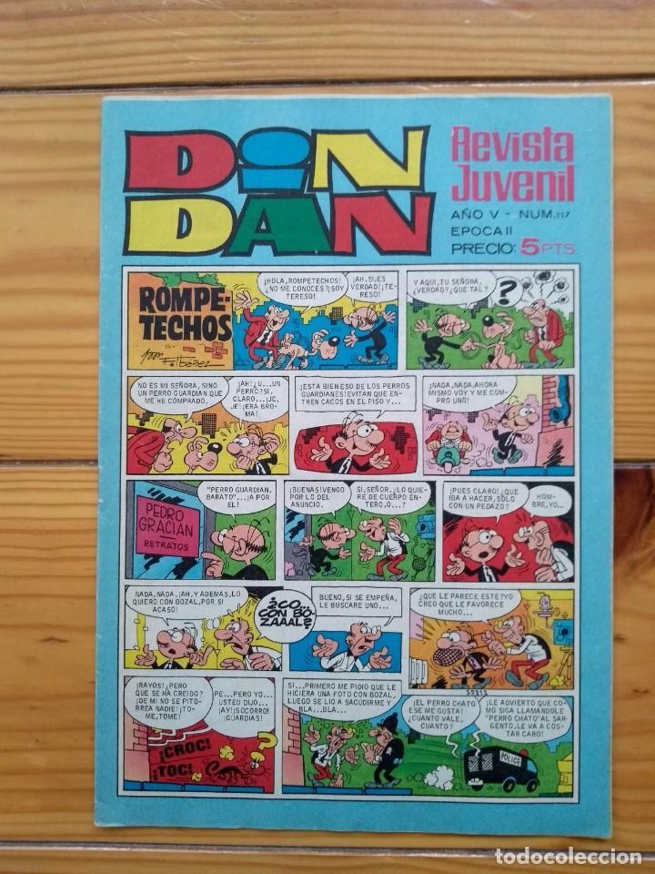 DIN DAN Nº 117 (Tebeos y Comics - Bruguera - Din Dan)