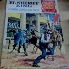 Tebeos: EL SHERIFF KING CLANTON CONTRA MAC DIVER GRANDES AVENTURAS JUVENILES Nº 14 EDITORIAL BRUGUERA 1972. Lote 195207638