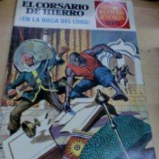 Tebeos: EL CORSARIO DE HIERRO ¡EN LA BOCA DEL LOBO! Nº 7 EDITORIAL BRUGUERA 1971. Lote 195208552