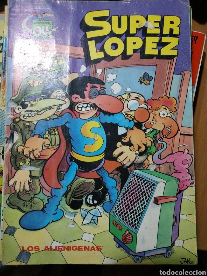 SUPER LÓPEZ N°9, PRIMERA EDICIÓN (Tebeos y Comics - Bruguera - Ole)