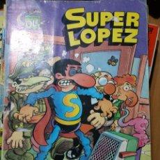 Tebeos: SUPER LÓPEZ N°9, PRIMERA EDICIÓN. Lote 195229543