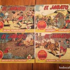 Tebeos: COMIC EL JABATO SUPER AVENTURAS Nº 77 -85 -97 -110 LOTE 4 REVT,. Lote 195229633